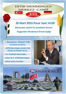 Canakkale 2016 Afis